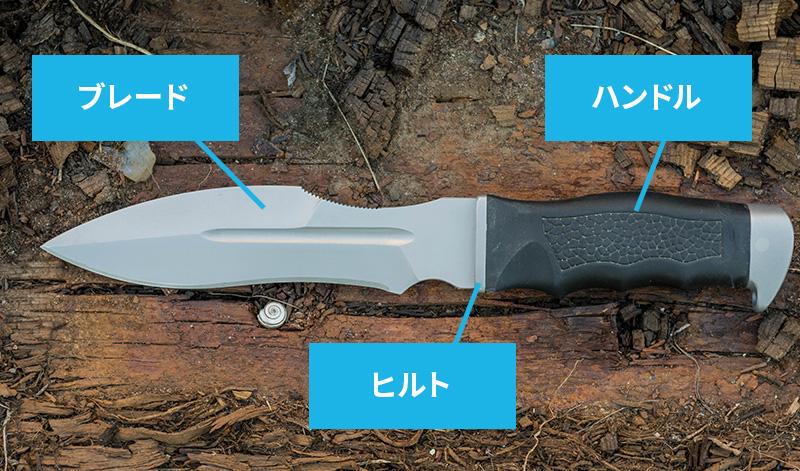 ブレードの鋼材の種類