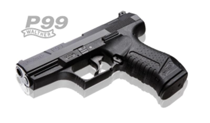 ワルサーP99 ブローバック ブラックモデル